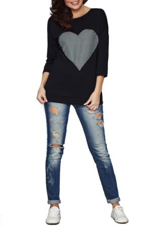 Sweatshirt INFINITE YOU. Цвет: black, grey