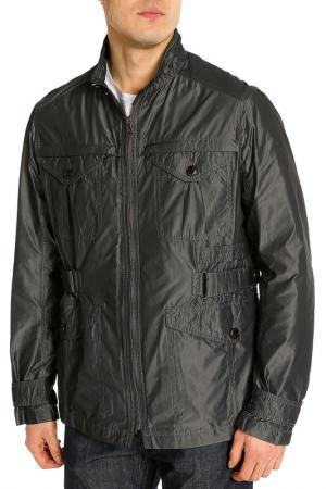 Куртка Hugo Boss. Цвет: серый