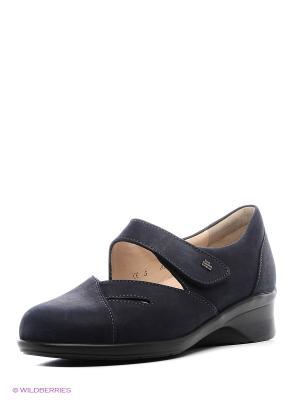 Туфли ортопедические Finn Comfort. Цвет: синий
