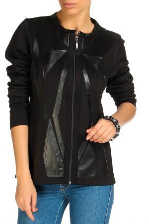 Куртка SARAH KERN. Цвет: черный