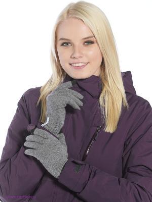 Перчатки Primm. Цвет: серый
