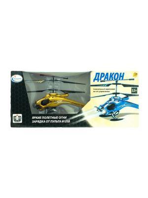 Вертолет на радиоуправлении Дракон золотой ВластелиНебес. Цвет: золотистый