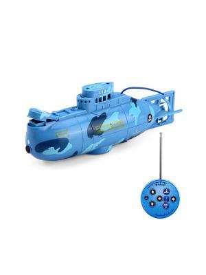 Подводная лодка Blue Sea. Цвет: синий