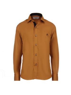 Рубашка ROMA design. Цвет: светло-коричневый