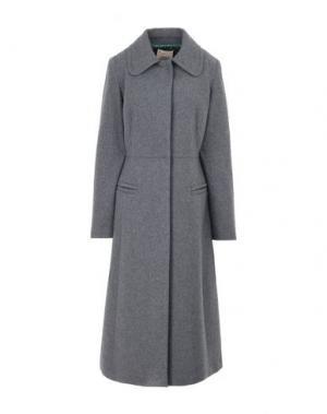 Легкое пальто GARAGE NOUVEAU. Цвет: серый
