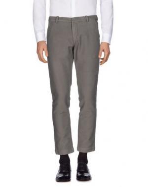 Повседневные брюки ..,BEAUCOUP. Цвет: серый