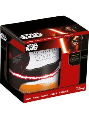 Кружка керамическая в подарочной упаковке (325 мл). Звёздные войны Эпизод 7 Stor. Цвет: красный, черный