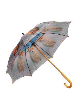 Зонт-трость Mitya Veselkov. Цвет: оранжевый