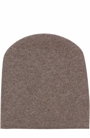 Кашемировая шапка Tegin. Цвет: коричневый