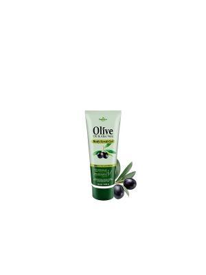 Герболив мини крем-скраб для тела с маслом оливы, 50мл Madis S.A.. Цвет: оливковый