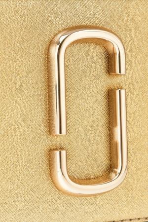Золотистая сумка Snapshot Marc Jacobs. Цвет: золотистый