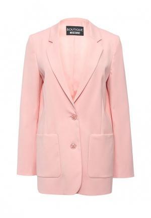 Пиджак Boutique Moschino. Цвет: розовый
