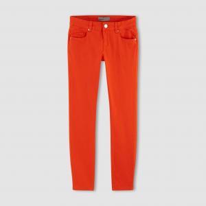 Брюки узкие 7/8, BUENO G LW SLIM PANTS VERO MODA. Цвет: оранжевый