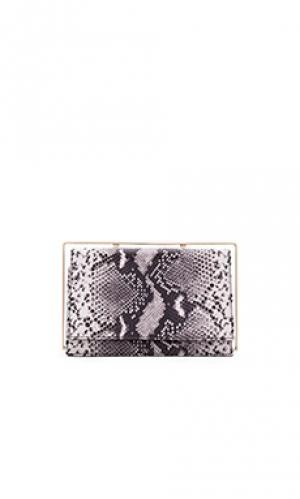 Клатч frame OLCAY GULSEN. Цвет: black & white