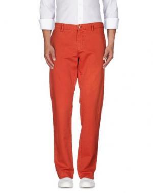 Повседневные брюки MASON'S. Цвет: красный