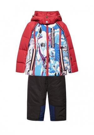 Комплект брюки и куртка Radrada. Цвет: разноцветный