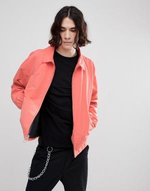 Herschel Supply Co Розовая куртка Харрингтон Mod. Цвет: розовый