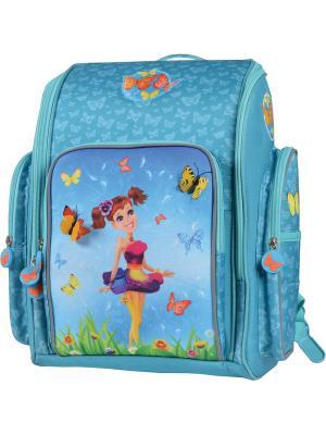 Рюкзак PROFF. Цвет: голубой