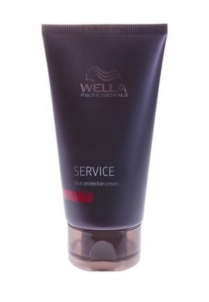 Крем для защиты кожи головы Wella. Цвет: фиолетовый