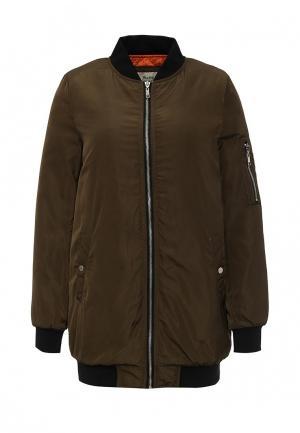 Куртка утепленная Softy. Цвет: хаки