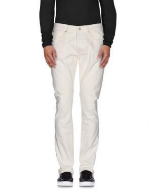 Джинсовые брюки UNIFORM. Цвет: белый