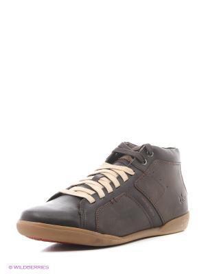 Ботинки TBS. Цвет: темно-коричневый