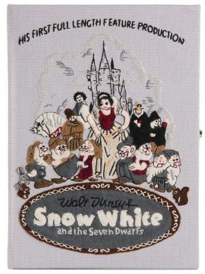 Клатч-книга Snow White Olympia Le Tan Bon Marche X The Webster. Цвет: серый