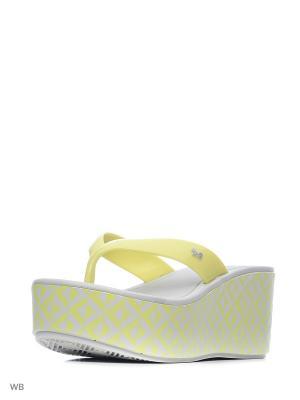 Пантолеты ZAXY. Цвет: желтый