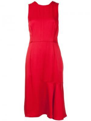 Платье с перекрестными лямками сзади Grey Jason Wu. Цвет: красный