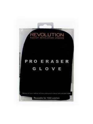 Перчатка для снятия макияжа Pro Makeup Eraser Glove Revolution. Цвет: черный