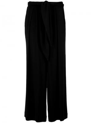 Belted trousers Andrea Marques. Цвет: чёрный