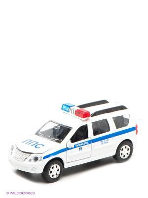 Машина Полиция Технопарк. Цвет: белый