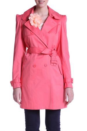 Пальто Top Secret. Цвет: оранжевый