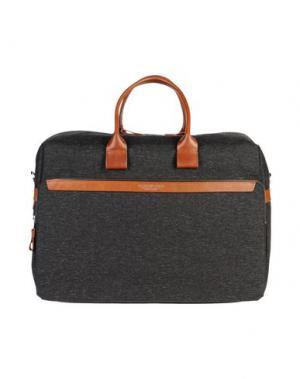 Дорожная сумка A.G. SPALDING & BROS. 520 FIFTH AVENUE New York. Цвет: стальной серый