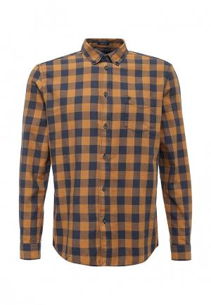 Рубашка Wrangler. Цвет: желтый
