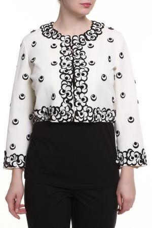 Пиджак Maria Grazia Severi. Цвет: черный, белый
