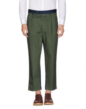 Повседневные брюки LC23. Цвет: зеленый