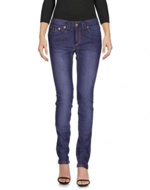 Джинсовые брюки BARBA Napoli. Цвет: фиолетовый