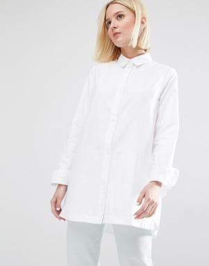 Waven Рубашка Nott. Цвет: белый