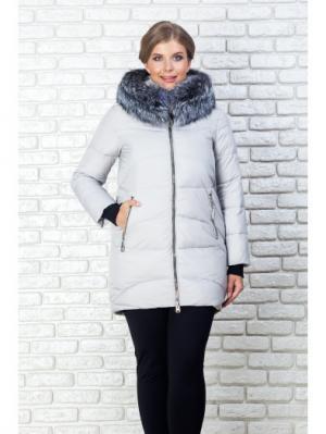 Куртка FREYA. Цвет: серый