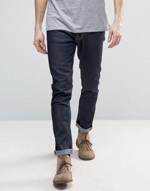 Nudie Jeans Суженные книзу джинсы слим Lean Dean. Цвет: темно-синий