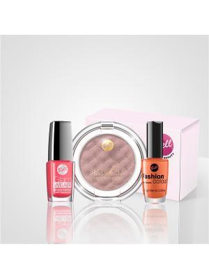 Bell Набор Fashion colour 203+glam wear508+тени 06. Цвет: оранжевый