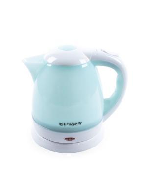 Чайник электрический Endever. Цвет: синий