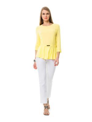 Блузка HELMIDGE. Цвет: желтый
