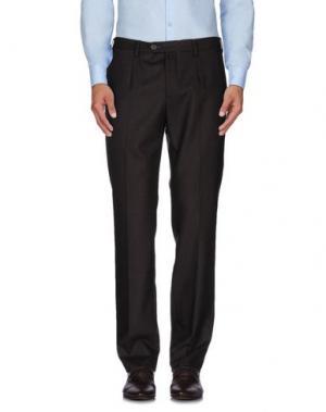 Повседневные брюки EREDI RIDELLI. Цвет: темно-коричневый
