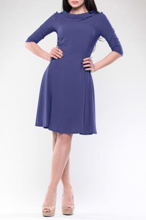 Платье REBECCA TATTI. Цвет: чернильный