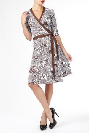 Платье ELLEN EISEMANN. Цвет: белый