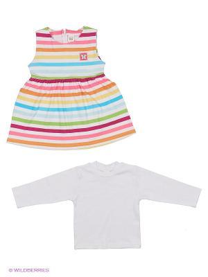 Комплект Happy Bear. Цвет: белый, зеленый, голубой, розовый, желтый