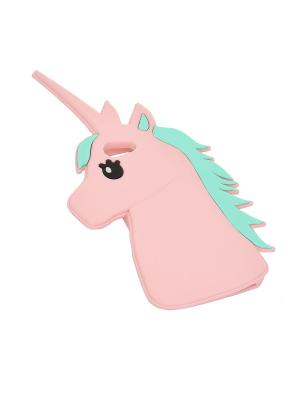 Чехол iPhone 7 Funky Fish. Цвет: розовый
