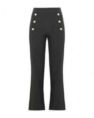 Повседневные брюки GEORGE J. LOVE. Цвет: зеленый-милитари